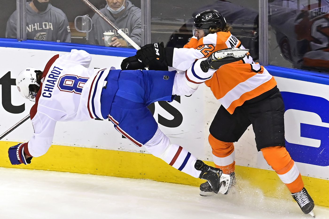 Observations from the Flyers' 2-1 win over Canadiens