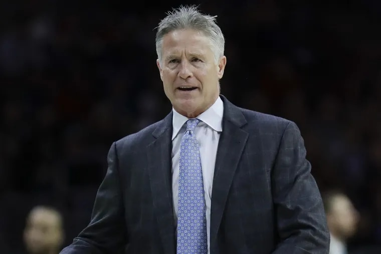 Philadelphia 76ers coach Brett Brown had much to lament during his team's loss to the Toronto Raptors.
