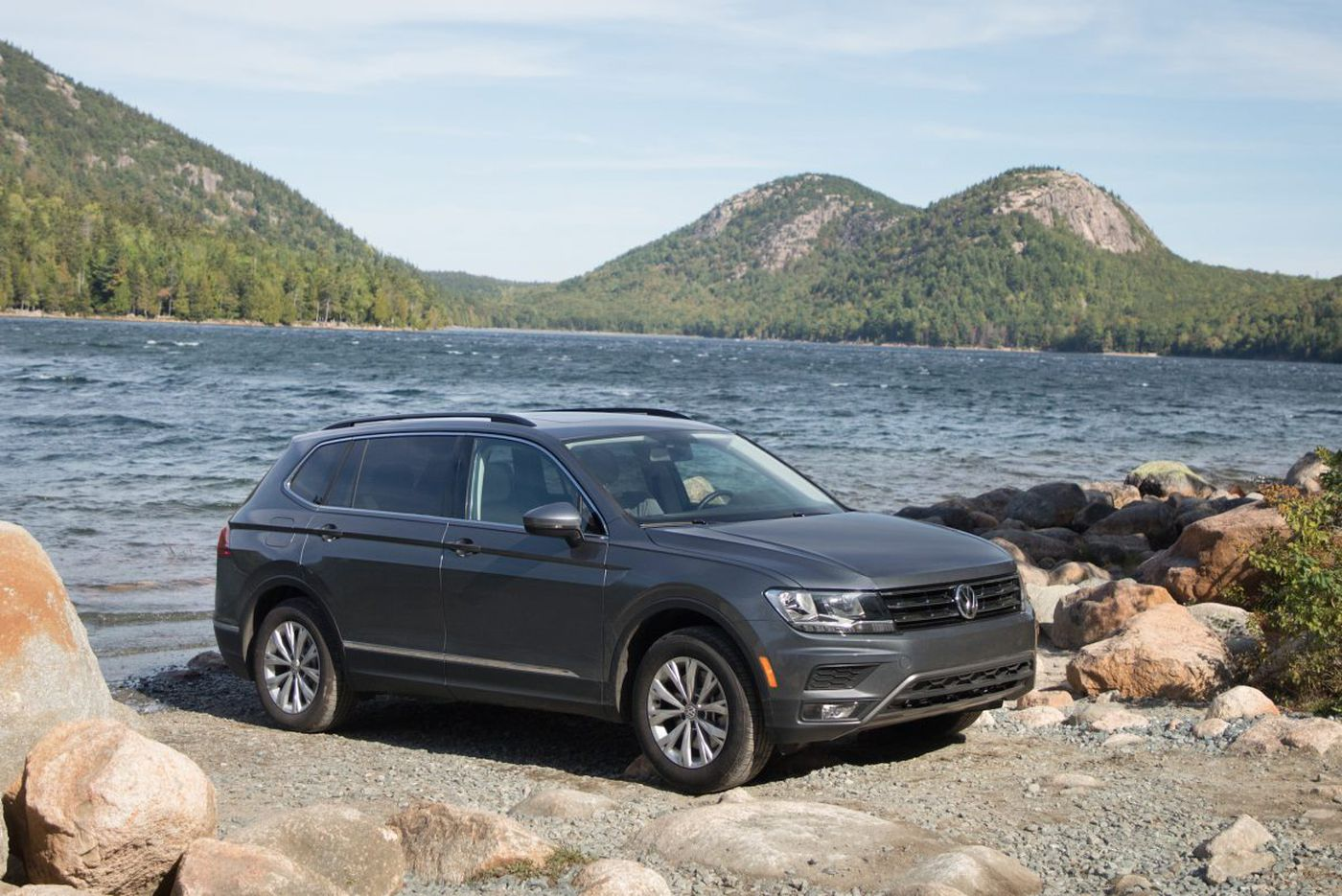 Volkswagen Tiguan tries punching above its weight
