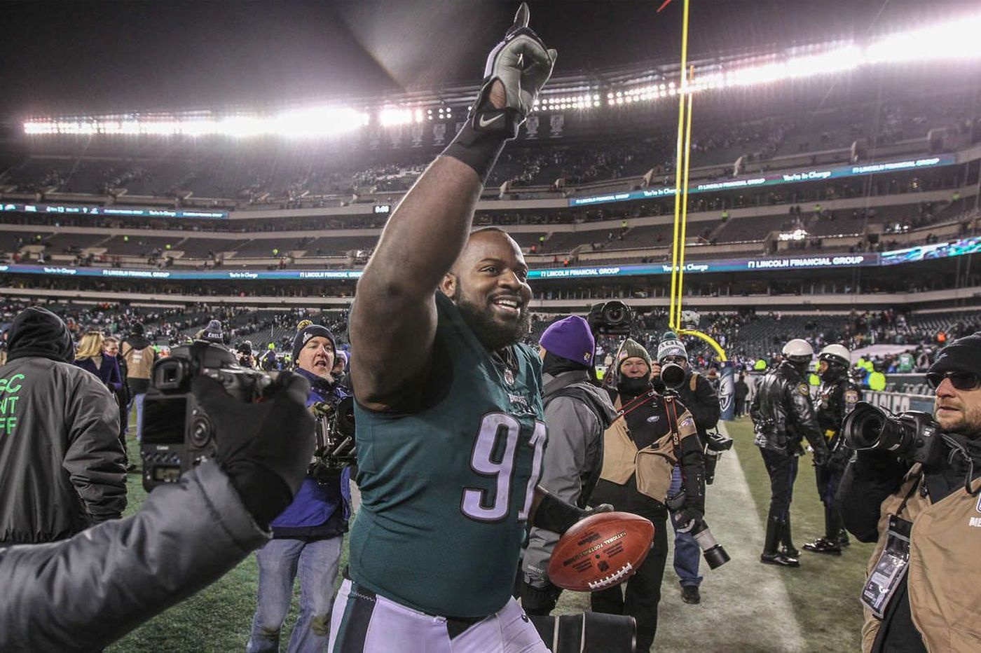 Eagles' Fletcher Cox raising his level of play in playoffs