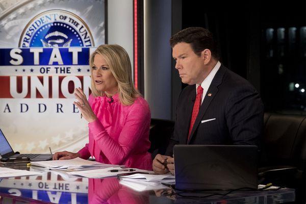 Fox News anchors Bret Baier and Martha MacCallum discuss upcoming Bernie Sanders town hall meeting in Pennsylvania