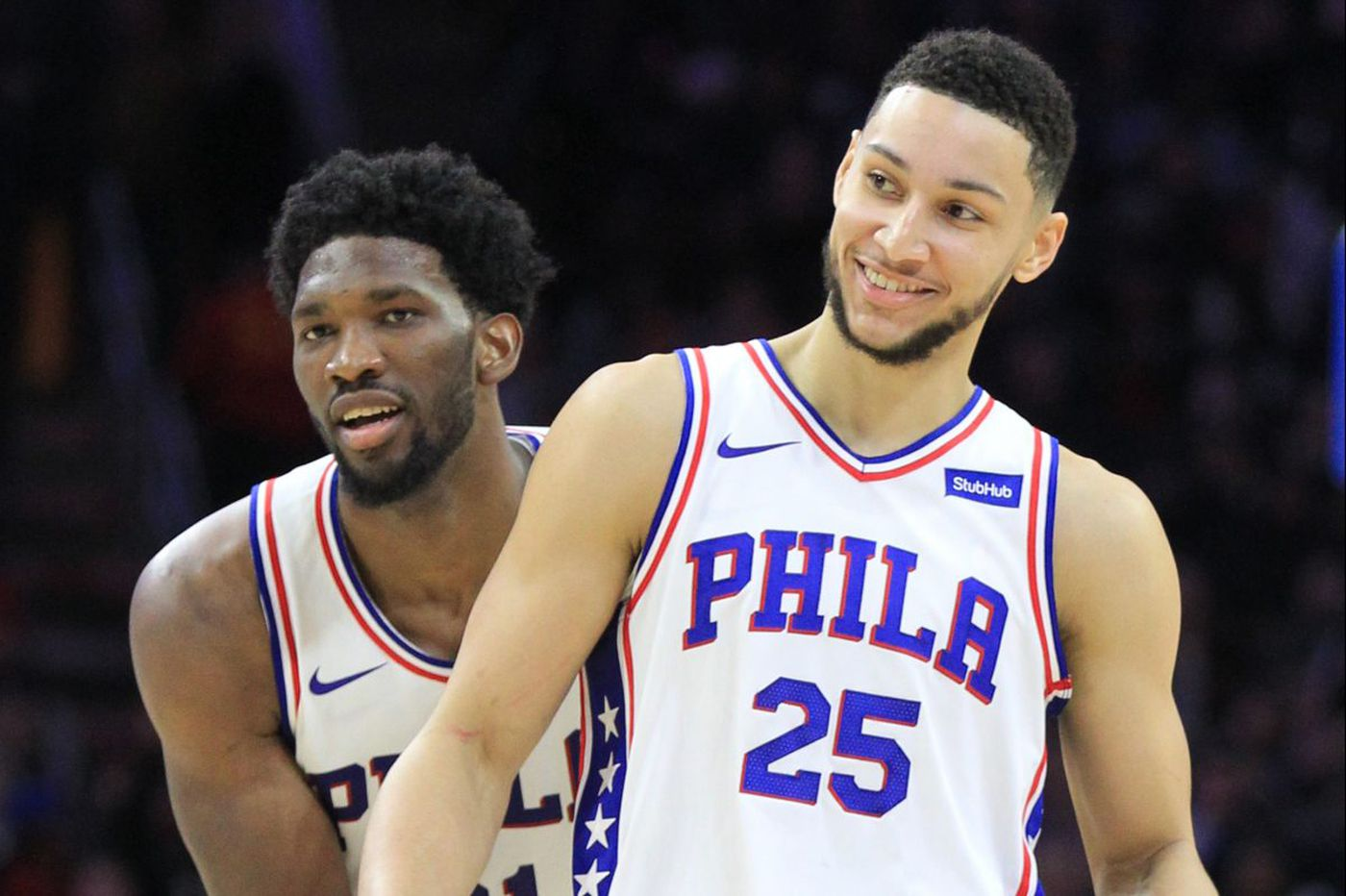Another cause for excitement: Recent play of 76ers, and budding superstars Joel Embiid and Ben Simmons | David Murphy
