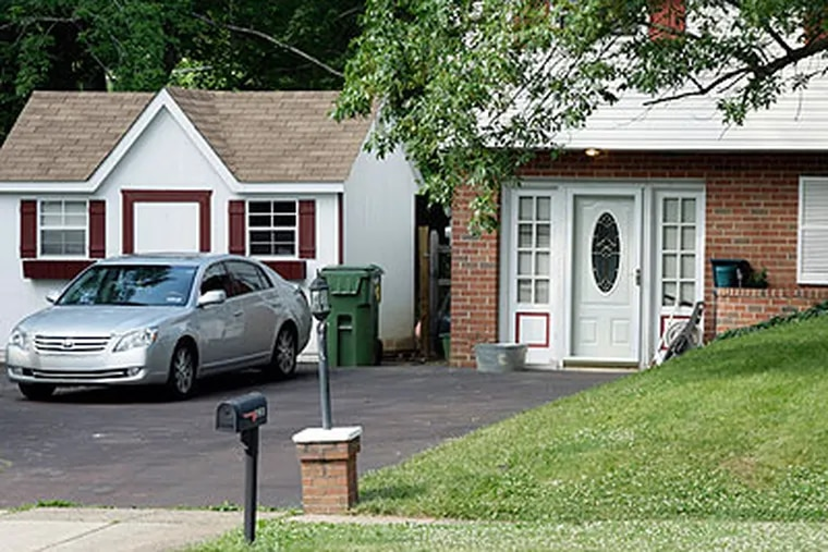 123 Hancock Rd., Upper Gwynedd, the site of a home invasion and shootout in June. (File / Staff)