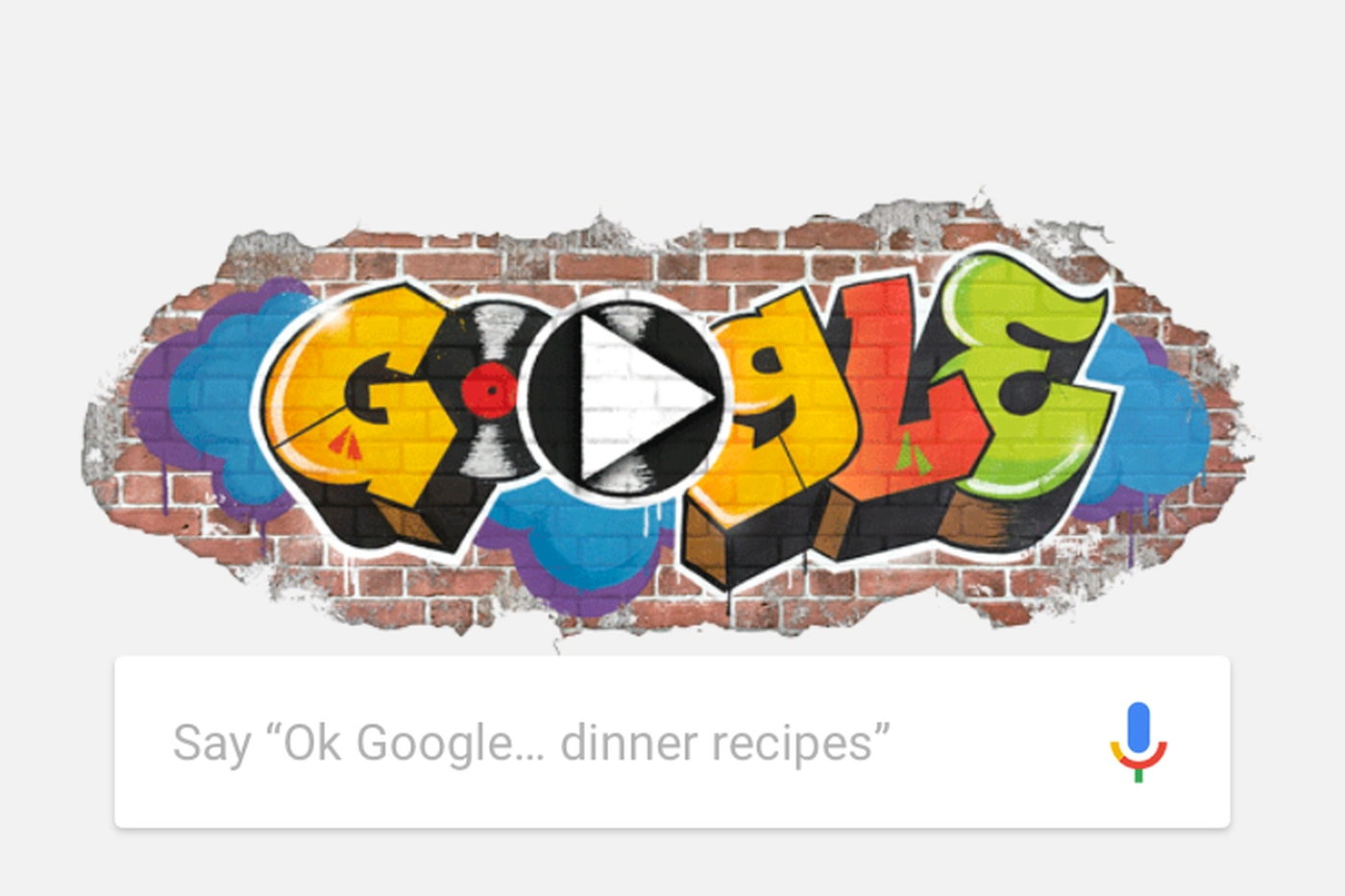 Google's homage to hip-hop made my Friday