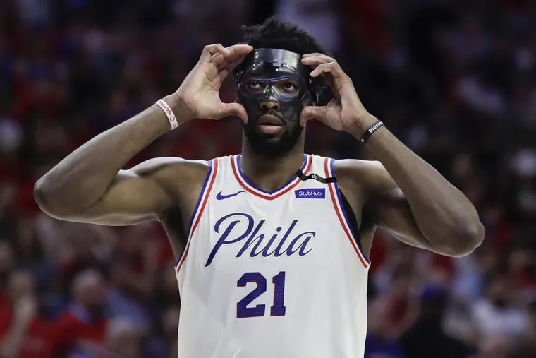 Sixers center Joel Embiid could lose part of his contract if he gets certain injuries.