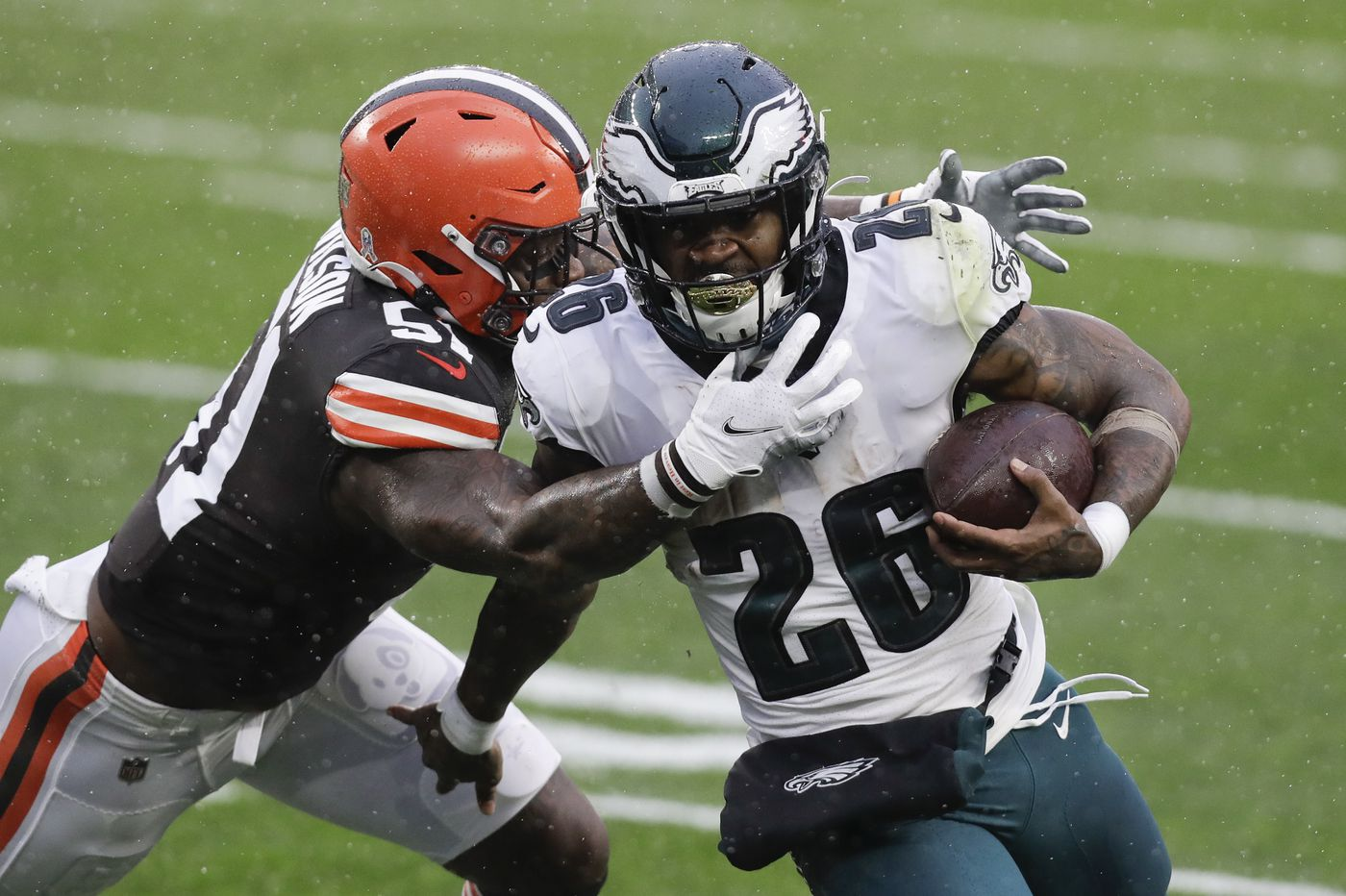 Five reasons the free-falling Eagles lost to the Browns and are 3-6-1