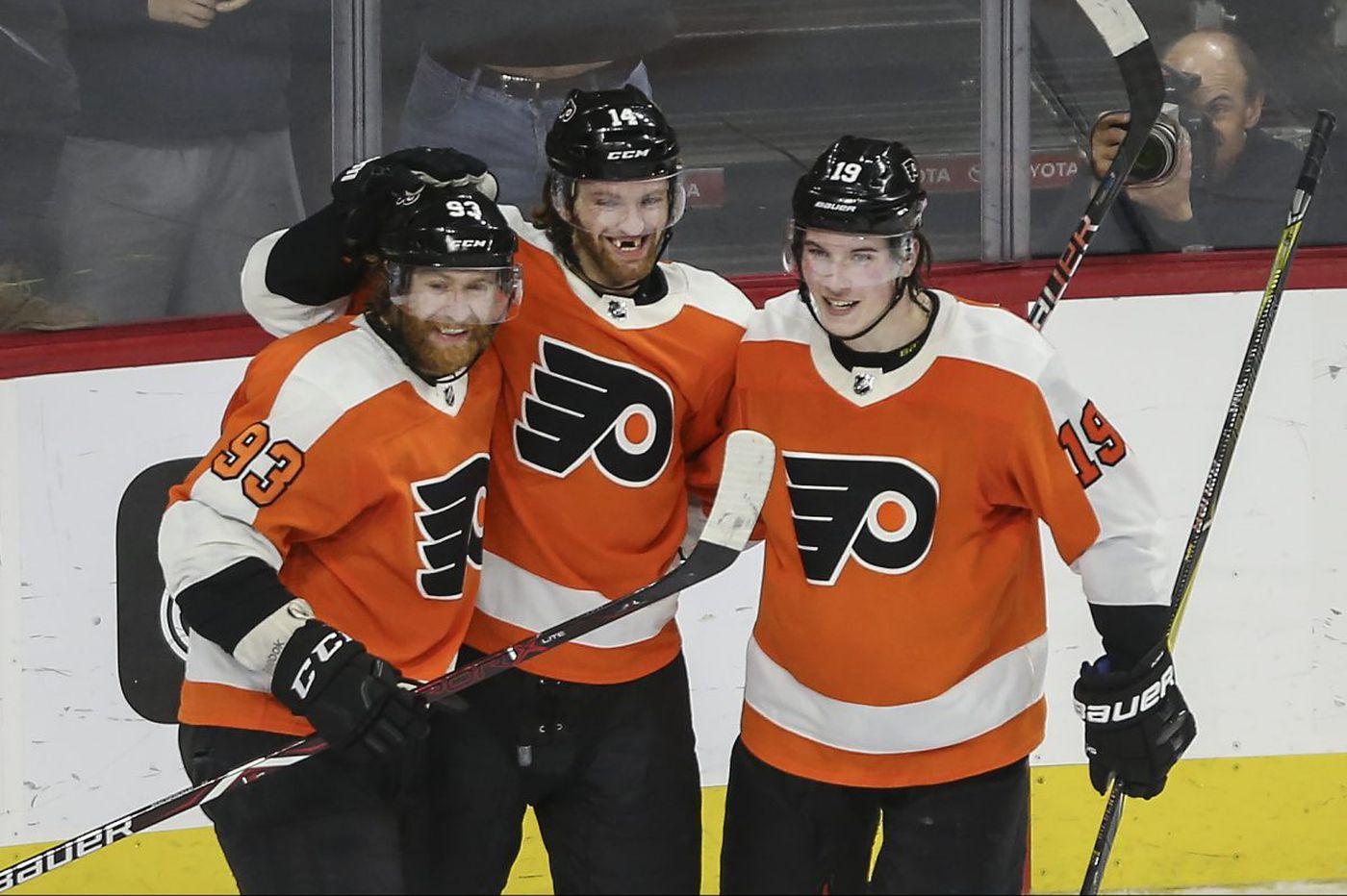 Jake Voracek's late heroics lift Flyers past Canadiens, 3-2, in OT