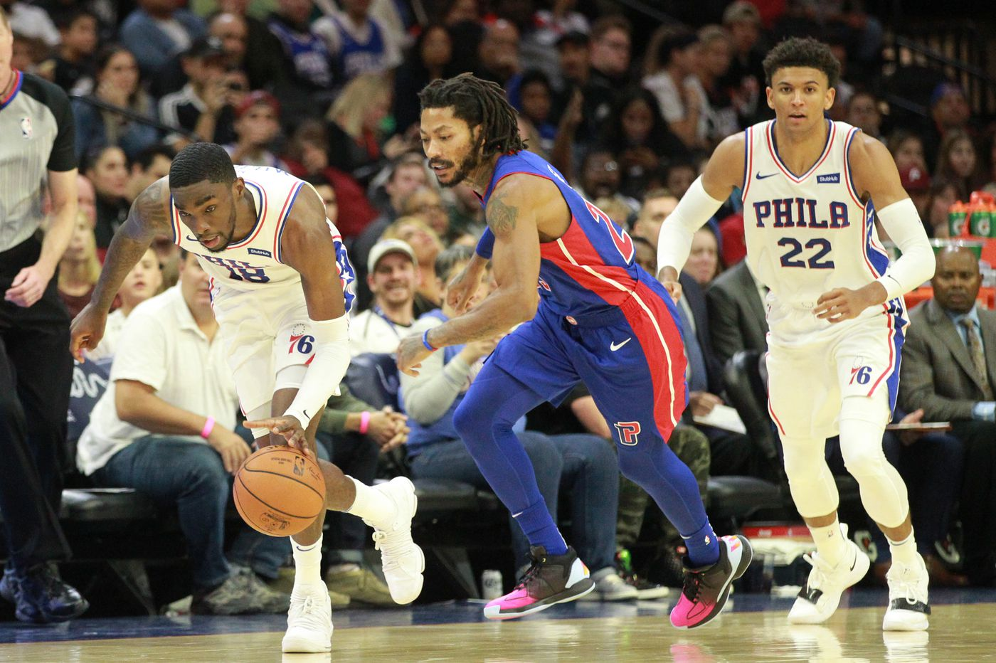 Be patient with the Sixers. Two reasons: Shake Milton and Matisse Thybulle. | David Murphy