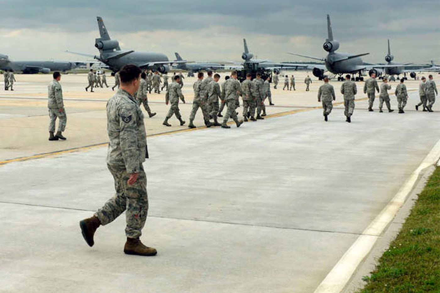 Massive N.J. base helps Liberia fight Ebola, and the drive against ISIS