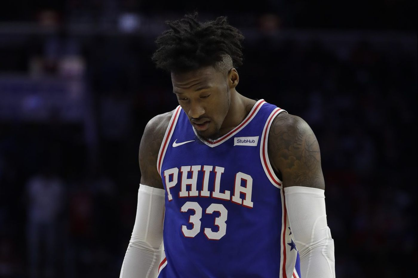 Robert Covington played the Cavs right after learning a friend had died