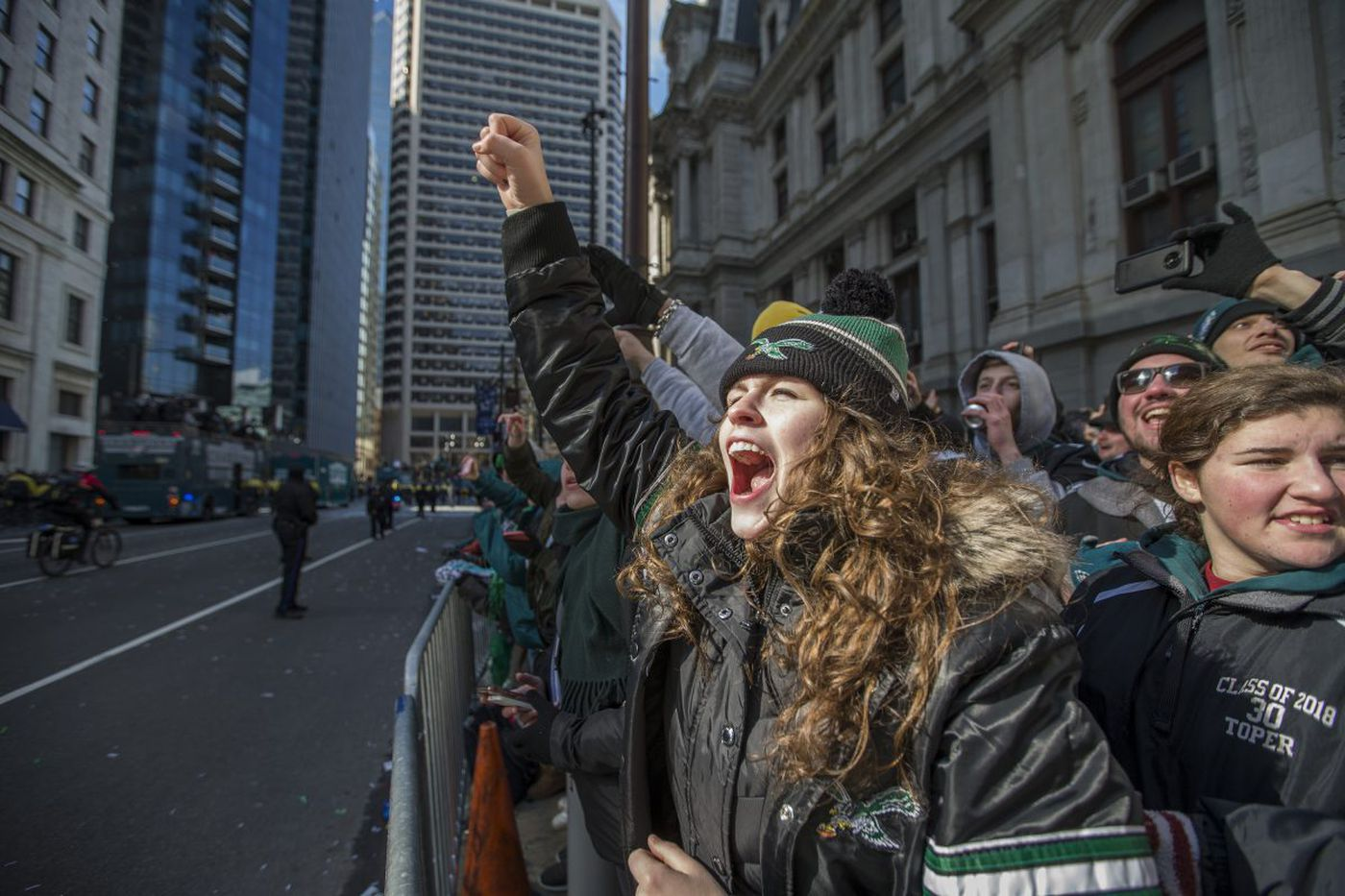 Super Bowl parade mood: `Is this what heaven's like?'