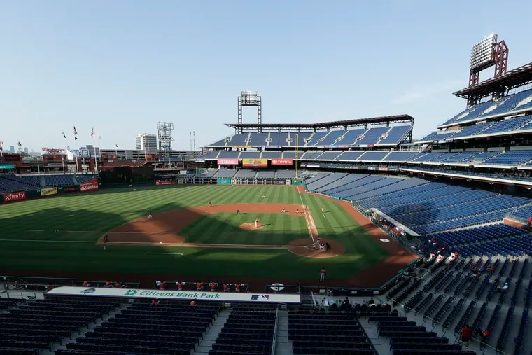 The Phillies will play the Blue Jays three times this weekend at Citizens Bank Park.