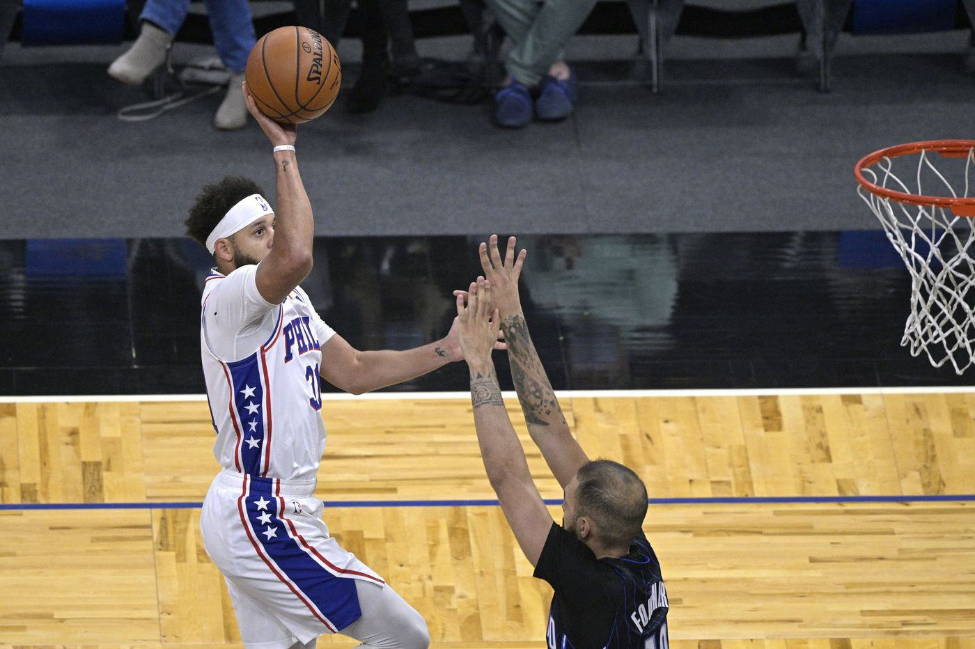 Looking at a tough season, the Sixers welcomed a breather against Orlando