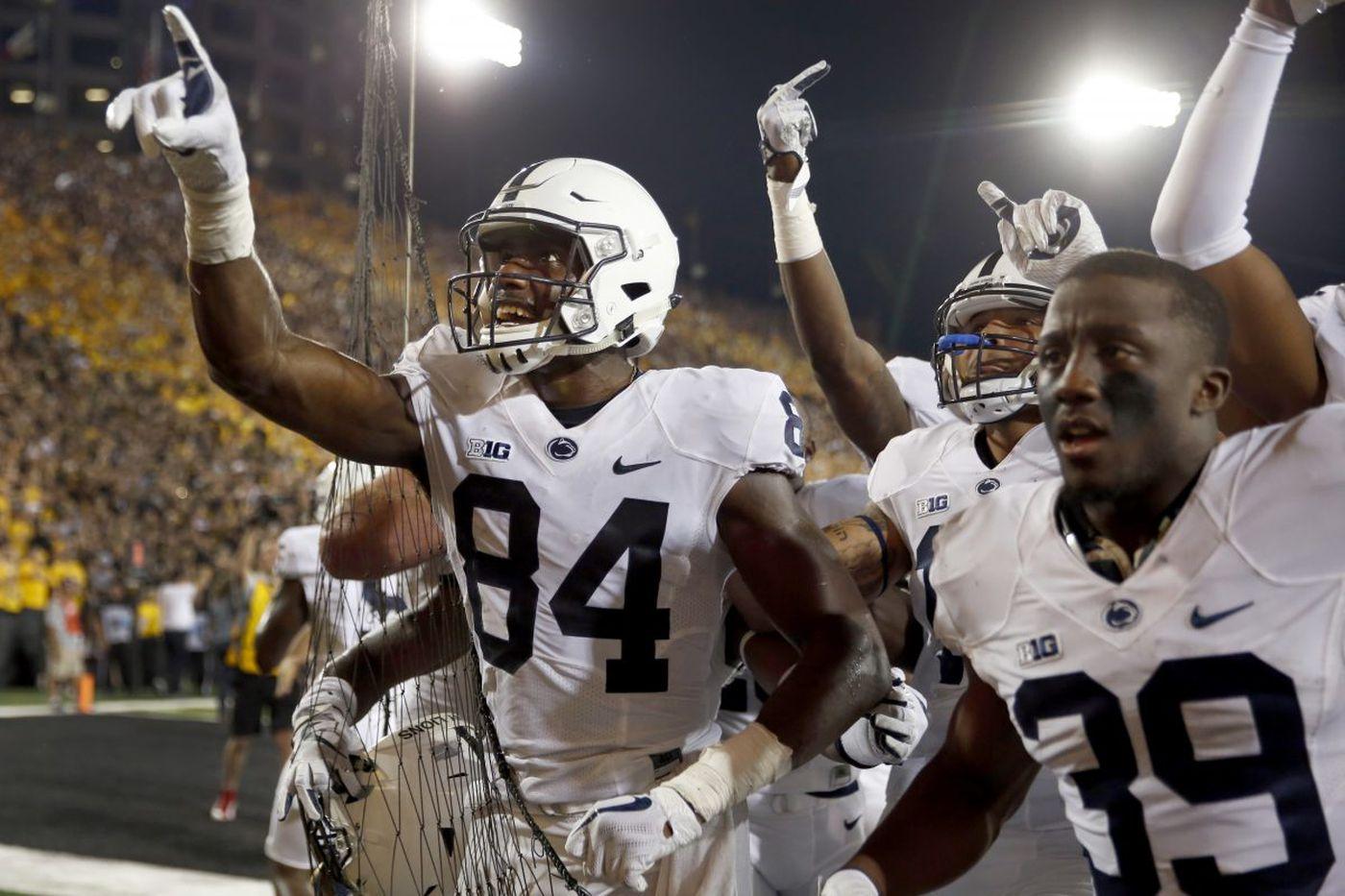 Penn State's Trace McSorley, Juwan Johnson score walkoff touchdown in win at Iowa