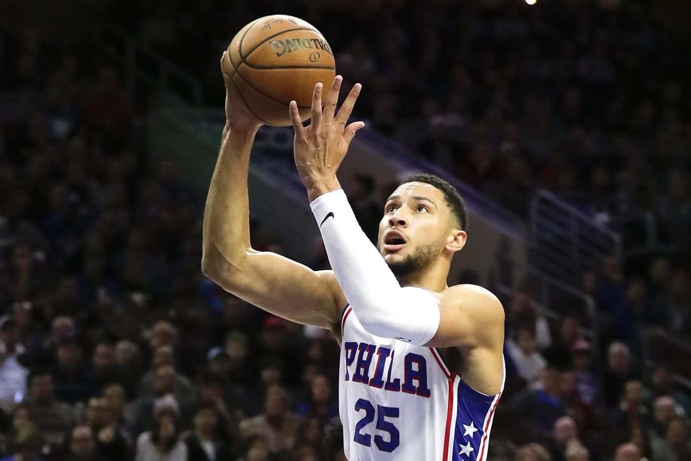 Sixers' Ben Simmons listed as questionable for Tuesday's game in Detroit