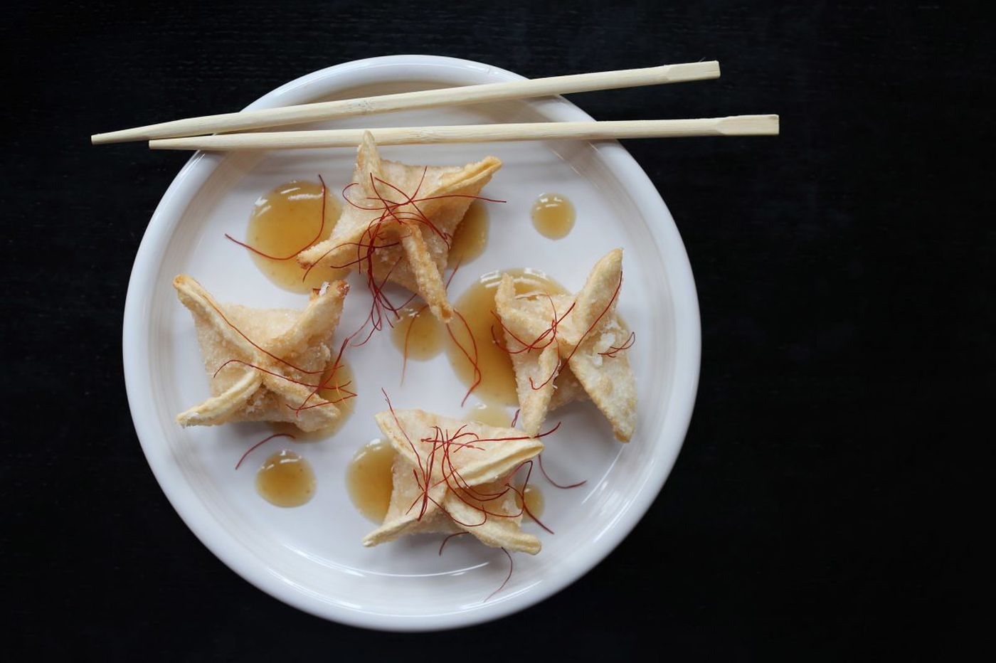 Summer corn Rangoon from the Cheu Noodle team