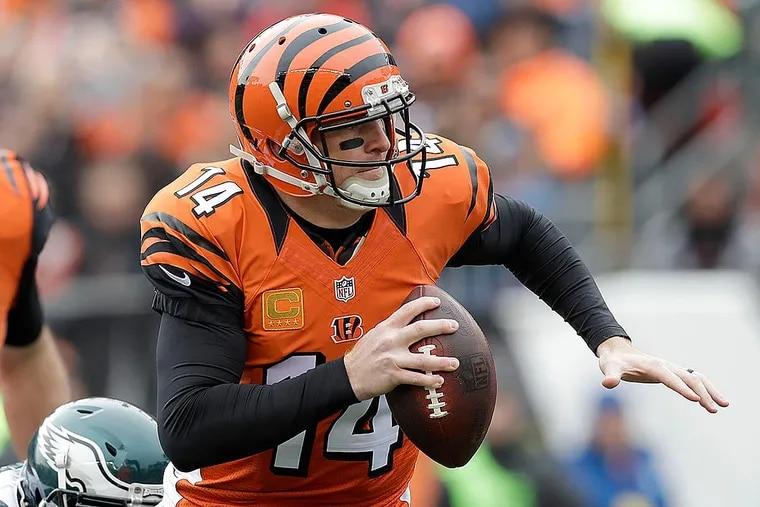 Bengals quarterback Andy Dalton.