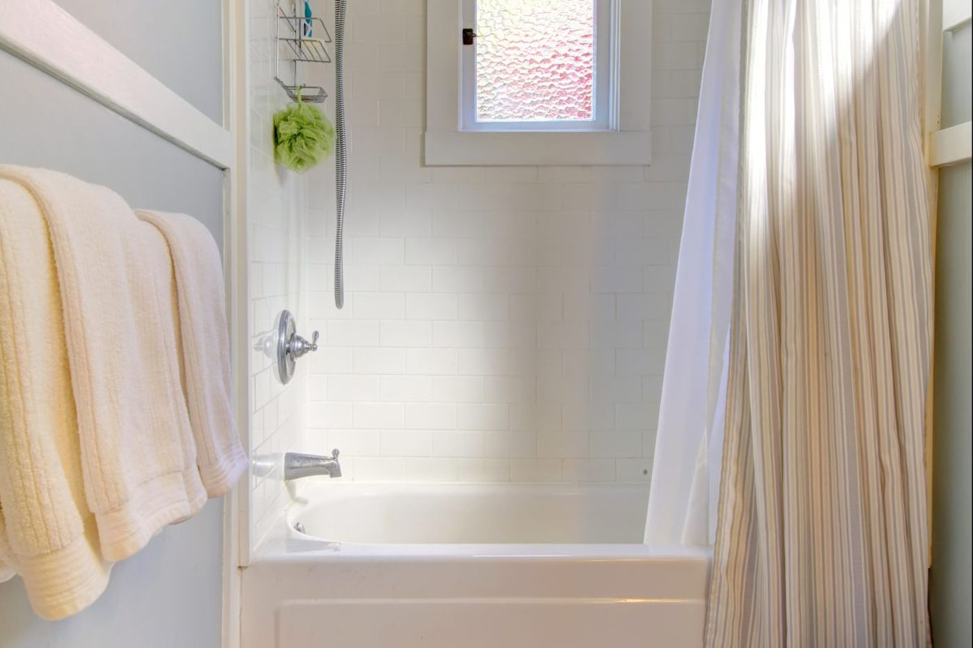 Ask Jennifer Adams Inexpensive Tile Alternatives For Bathroom Updates - Cheap bathroom tile alternatives