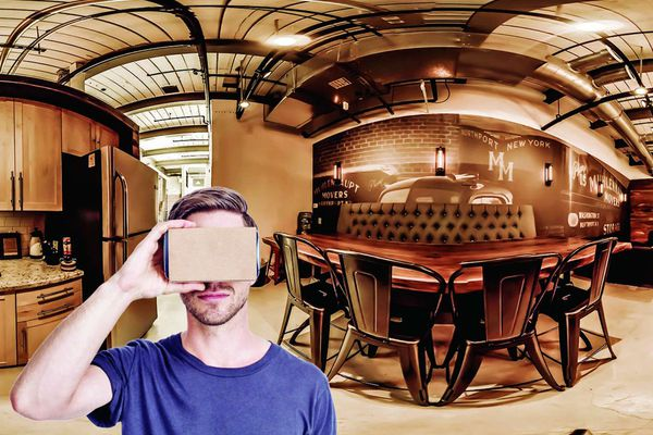 Virtual-reality house hunting: It's almost like being there