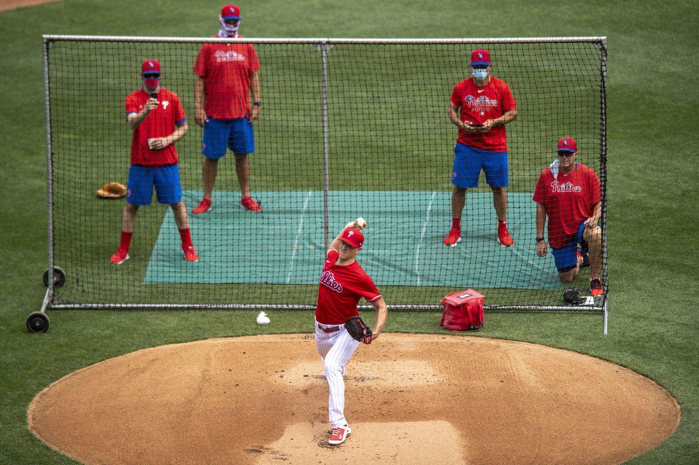 Coronavirus driving Phillies' plans for starting pitching rotation