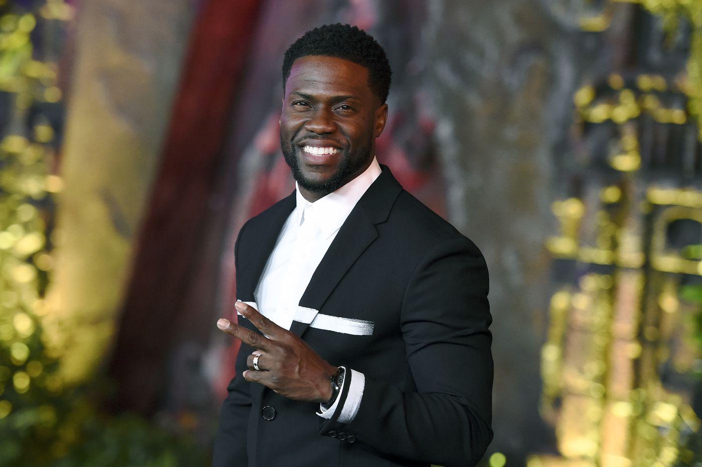 Kevin Hart says he will rethink hosting the Oscars after Ellen DeGeneres' encouragement