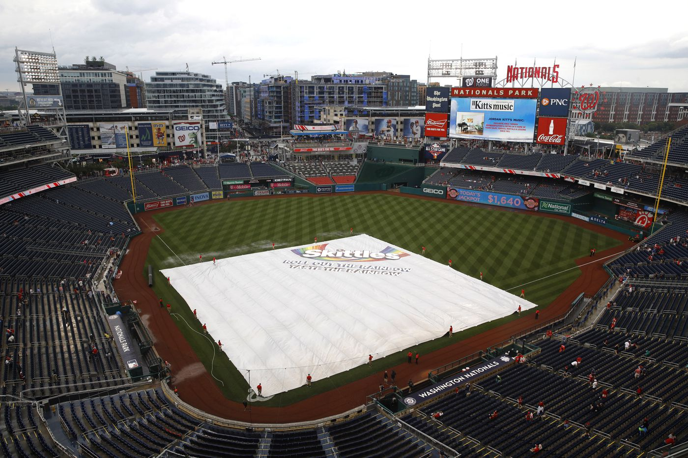 Monday's Phillies game postponed, Bryce Harper's return to D.C. put on hold