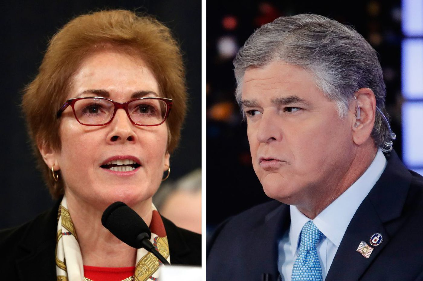Marie Yovanovitch denies right-wing smear campaign pushed by Fox News host Sean Hannity and others