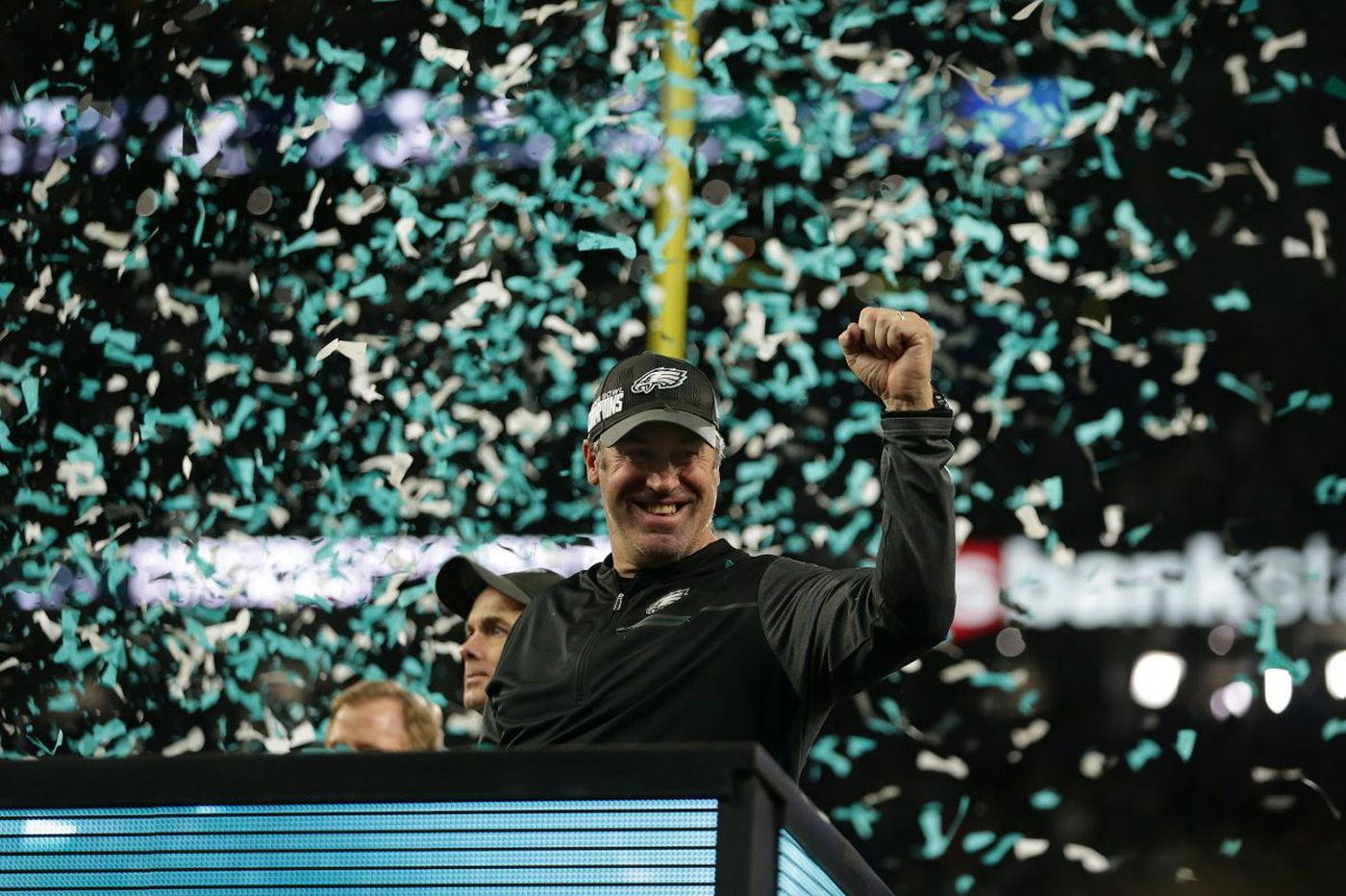 Doug Pederson's contract extended through 2020 as Eagles pick up fifth-year option
