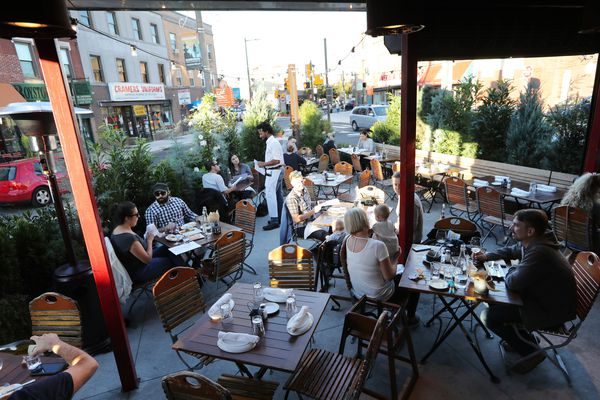 An outdoor dining guide to Philly's patios, courtyards, and rooftops