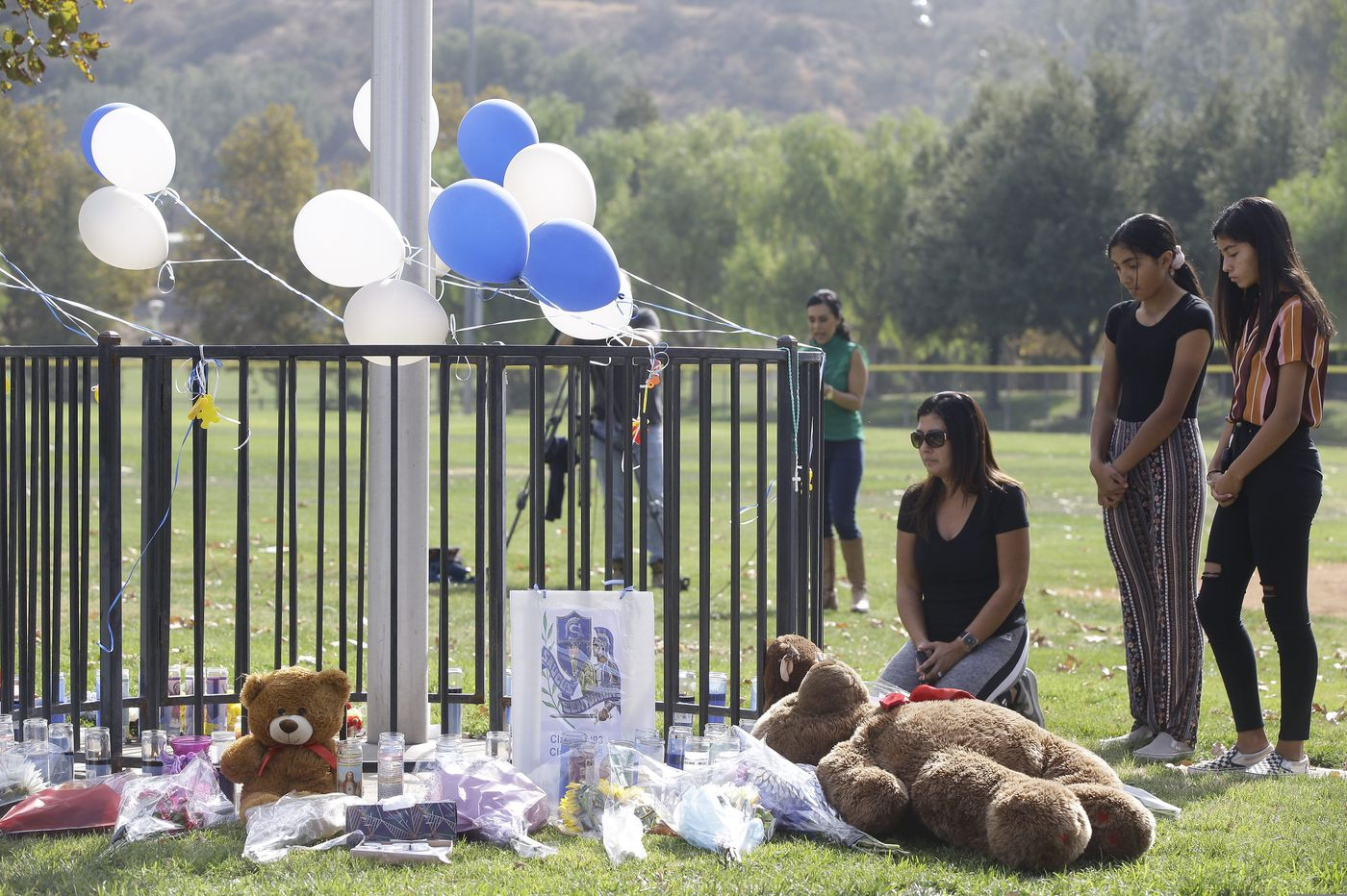 California high school shooter dies with motive a mystery