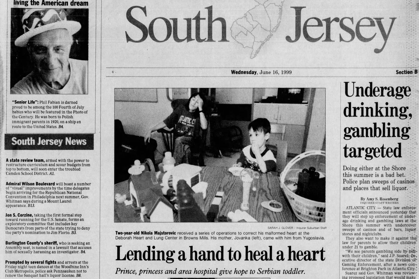 Serbian toddler got heart repaired in rural New Jersey