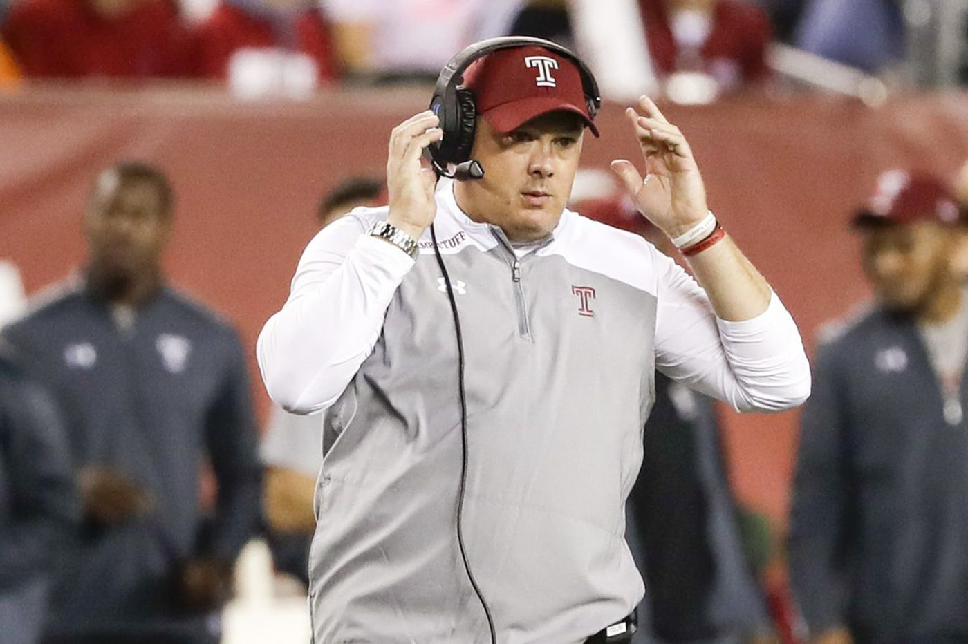 Temple football coach Geoff Collins 'excited' for quarterback Frank Nutile to start again