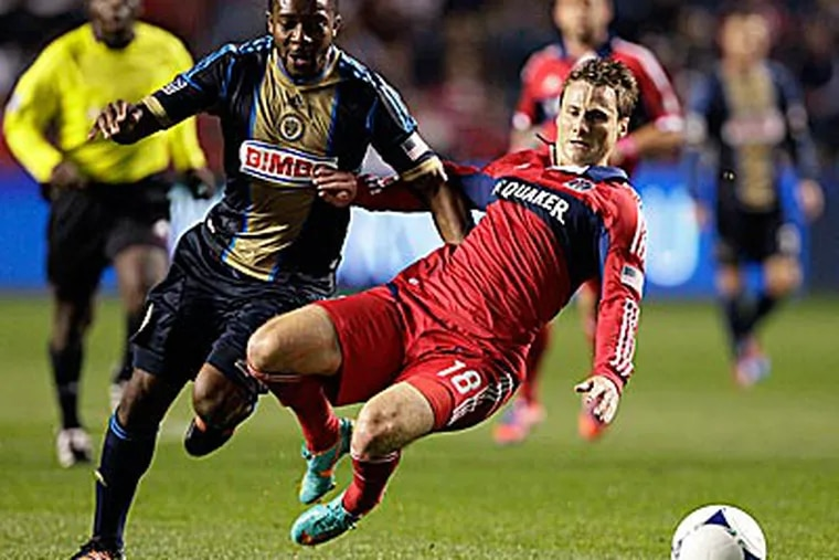 After making the playoffs last season, this year's campaign has been bitterly disappointing for the Union. (Nam Y. Huh/AP)