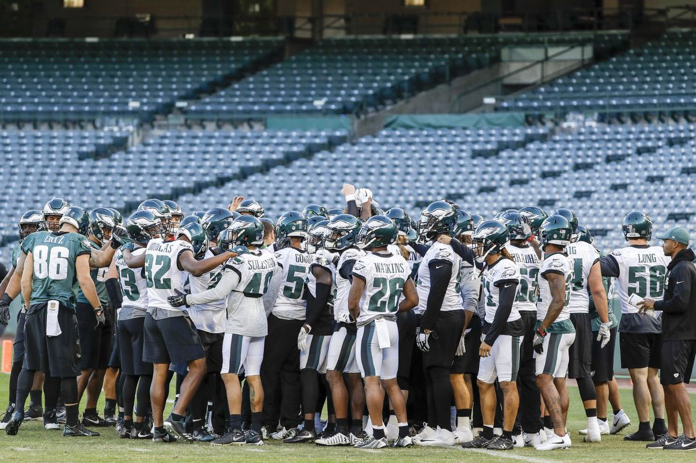 Why the Eagles' week in California was a 'precursor' to the Super Bowl   Early Birds