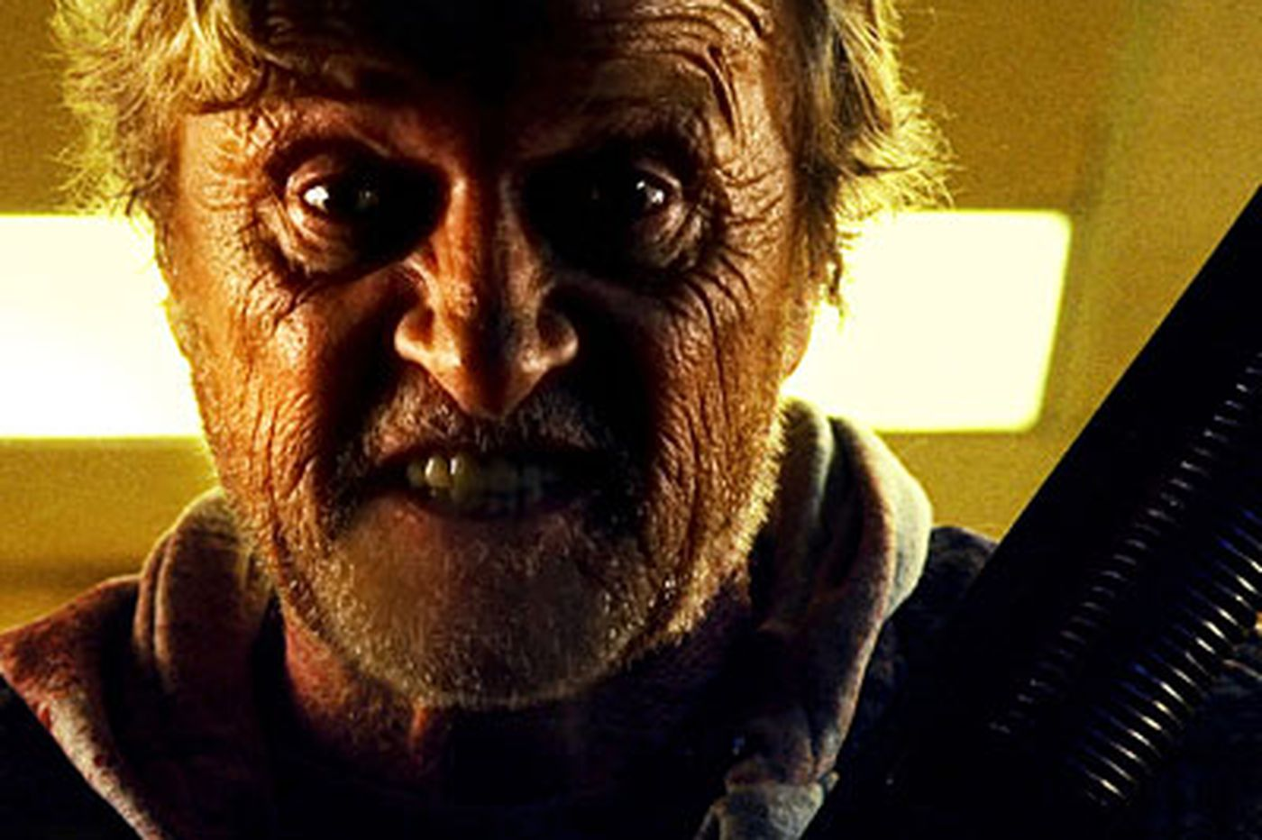 When a hobo enters a tainted town & goes vigilante, heads roll