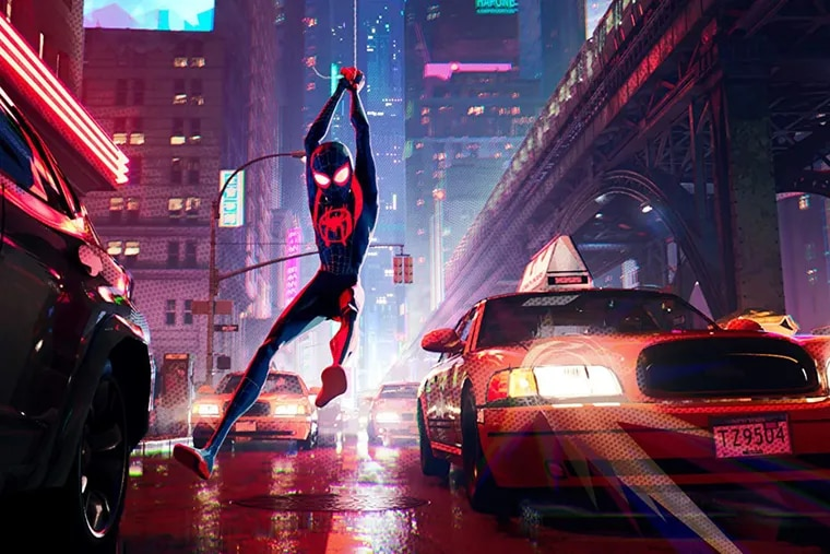 """""""Spider-Man: Into the Spider-Verse"""" (Sony Pictures/TNS)"""