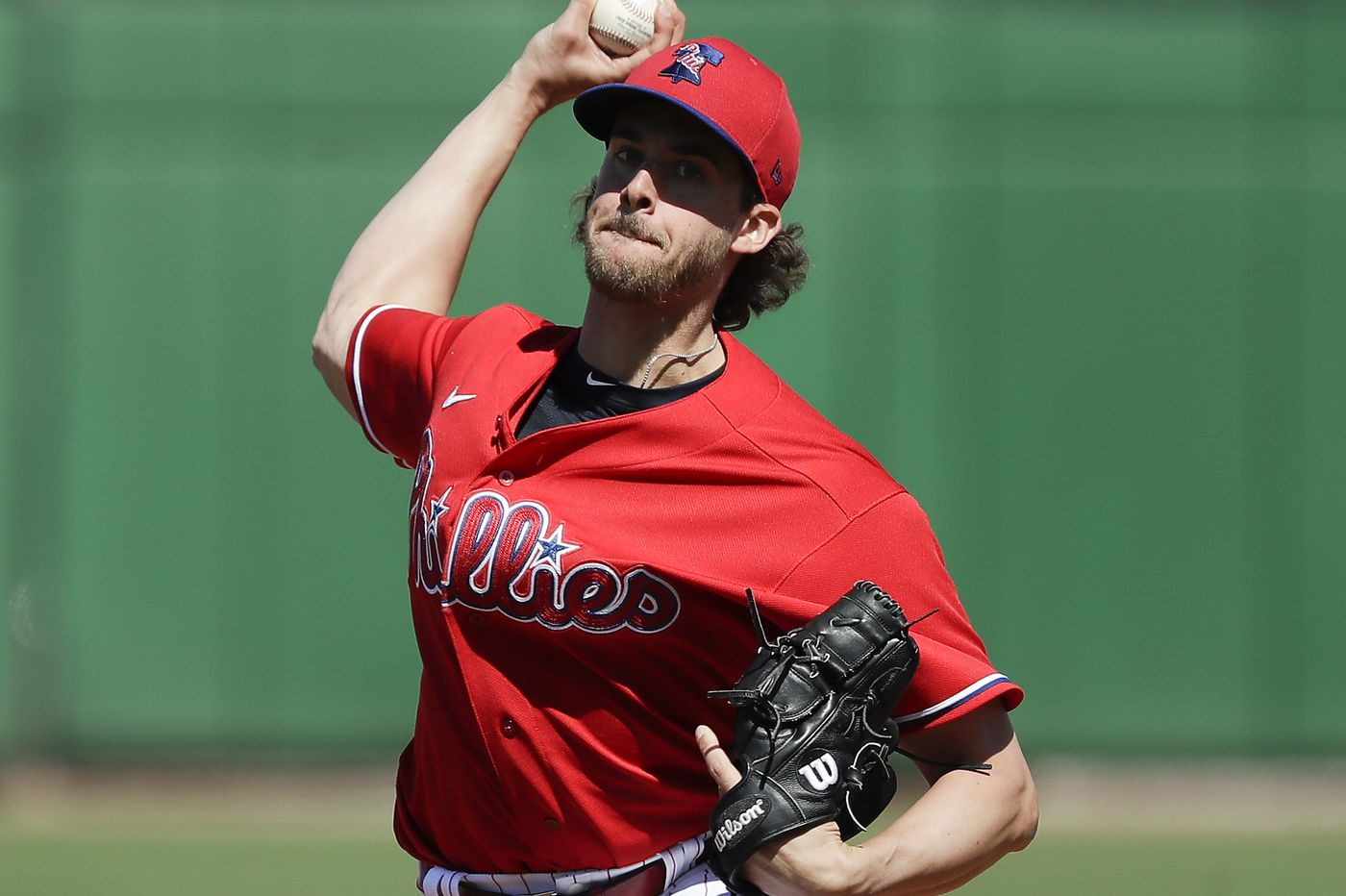 Aaron Nola's delayed arrival to Phillies camp highlights another challenge for MLB in playing amid COVID-19