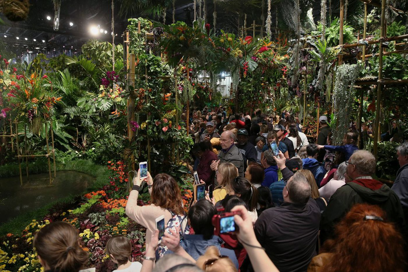 Philadelphia Flower Show is a wrap. Bring on spring
