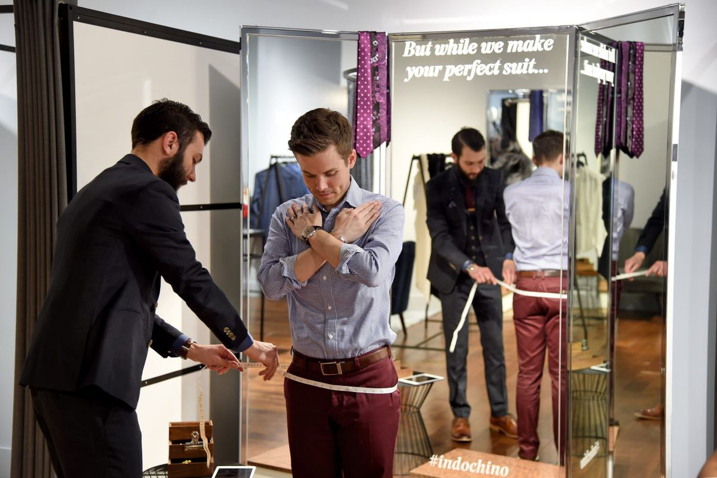 Men's suit maven Indochino shows how millennials like to buy suits