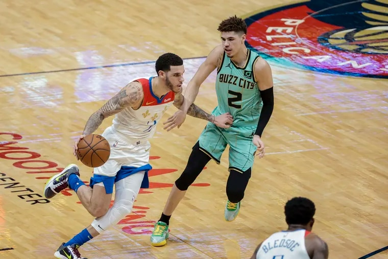 Lonzo and LaMelo Ball will face off this season as starters with big roles on the Chicago Bulls and Charlotte Hornets.