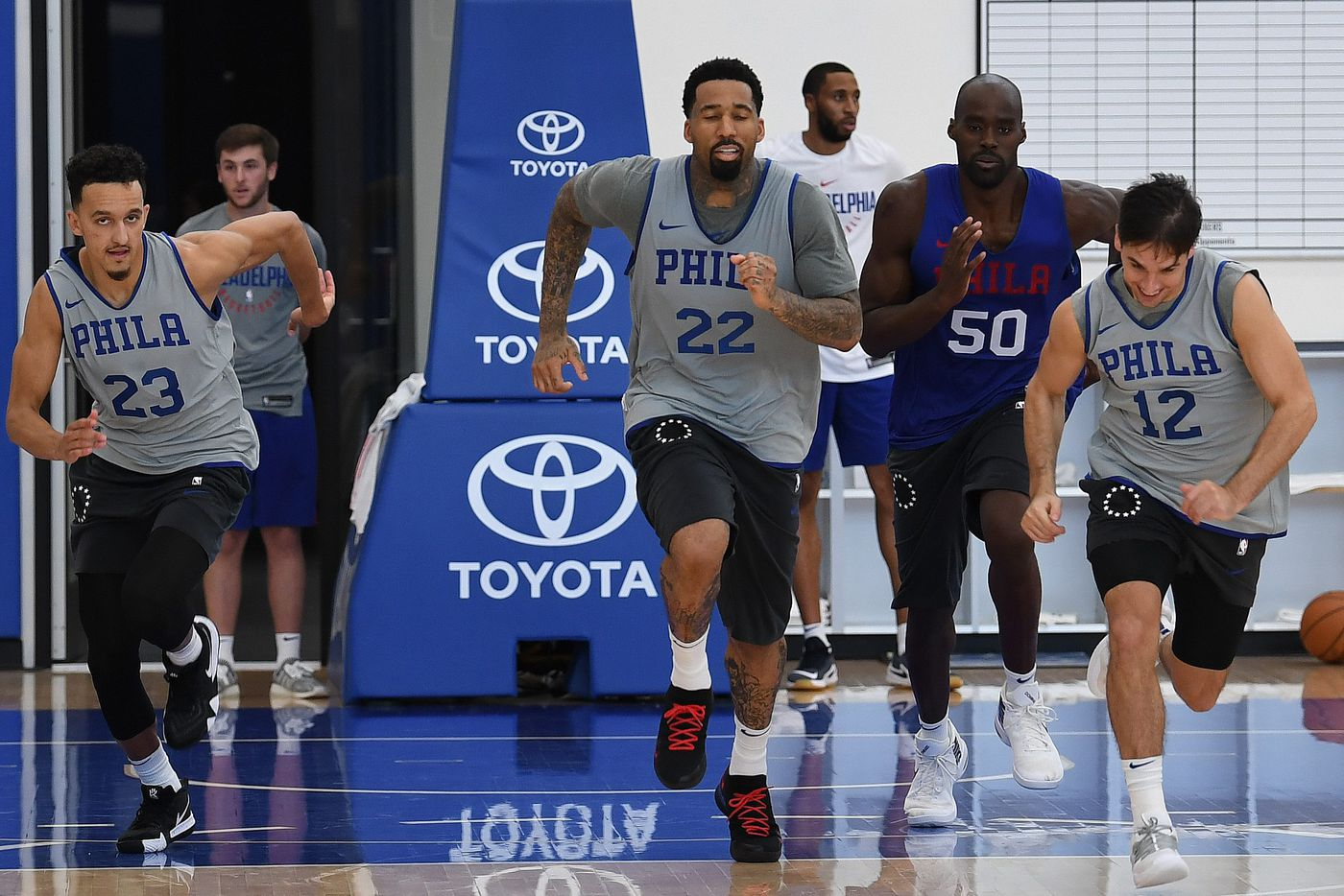 Sixers' Brett Brown says Wilson Chandler is 'a ways away'