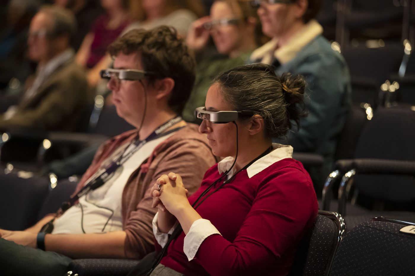 Caption glasses at People's Light theater are among first in U.S., aiding the deaf and hard of hearing