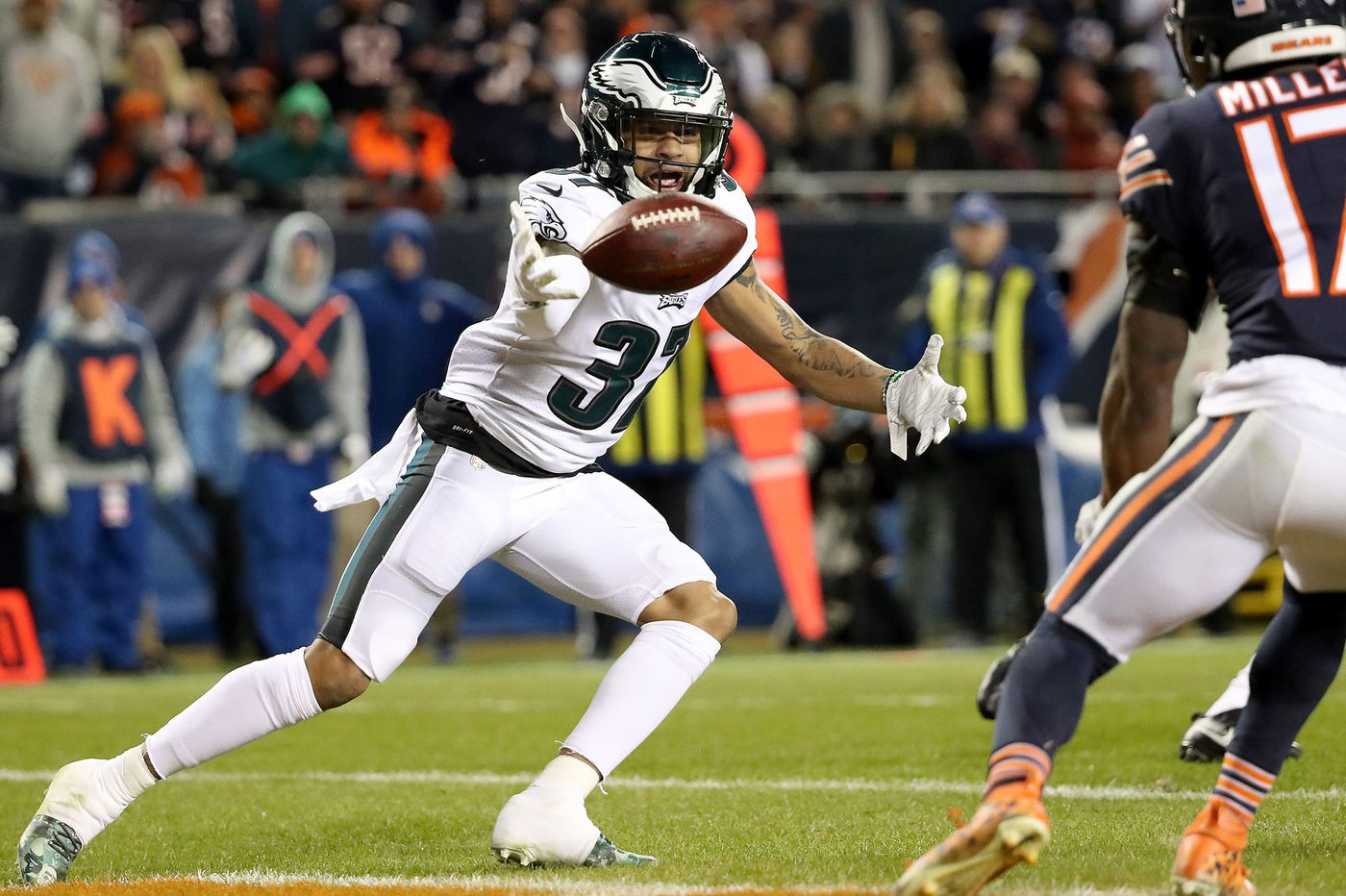 the latest ae053 8ff74 Eagles' Tre Sullivan is finally making his mark after ...