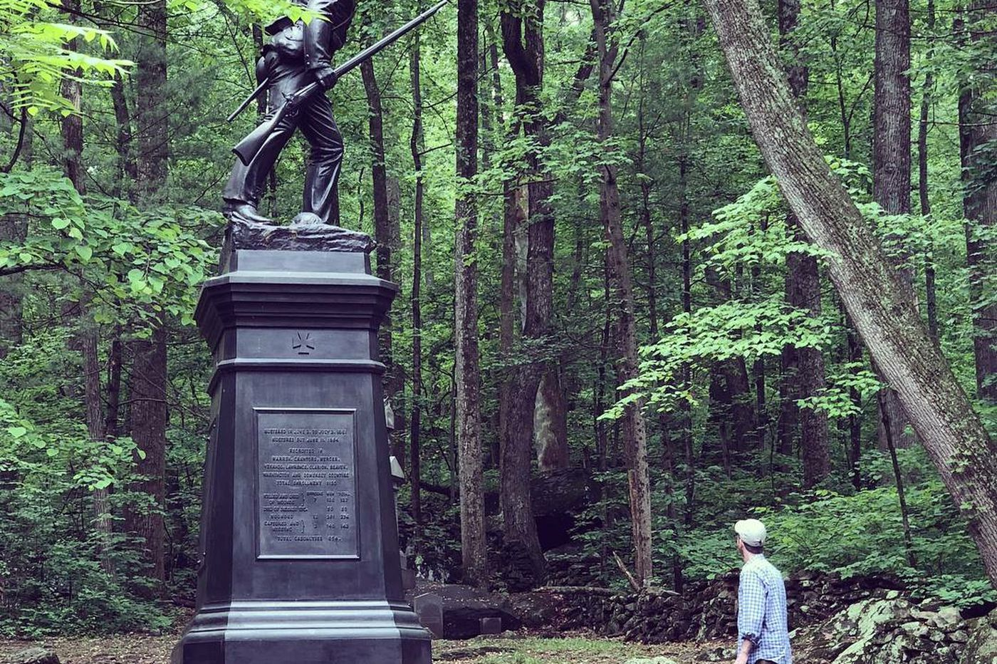 Father and son: A walk through personal history at Gettysburg | Mike Newall