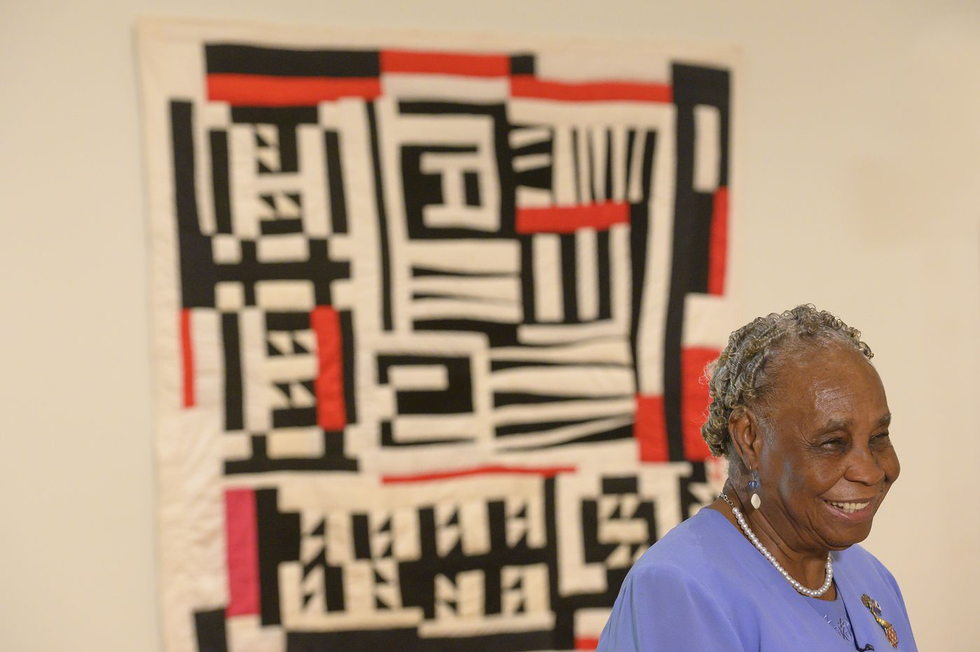 Quilts from the American South are on display at the Philadelphia Museum of Art