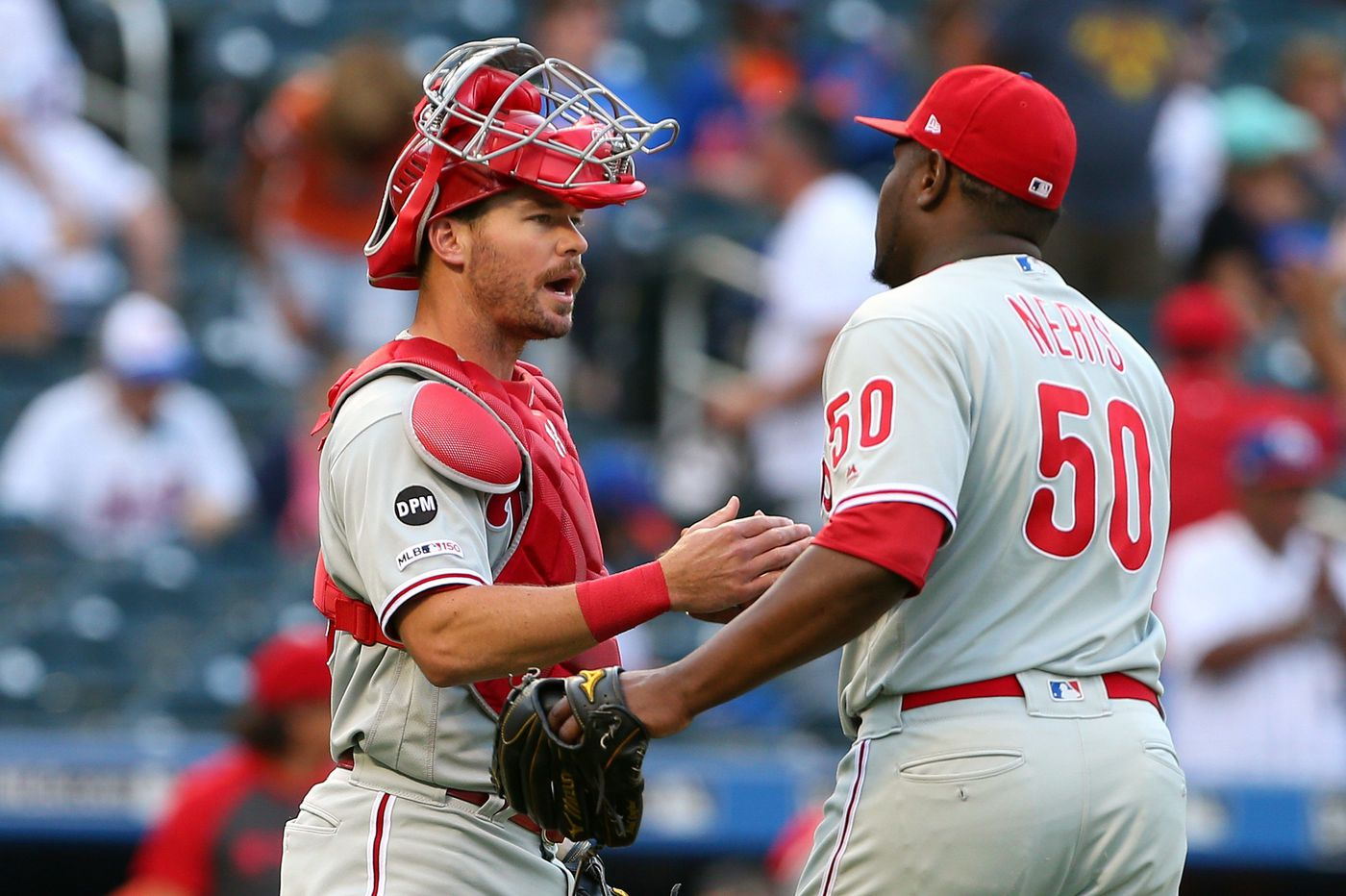 Phillies' exhausting win over the Mets keeps them locked in the wild-card race | Bob Brookover