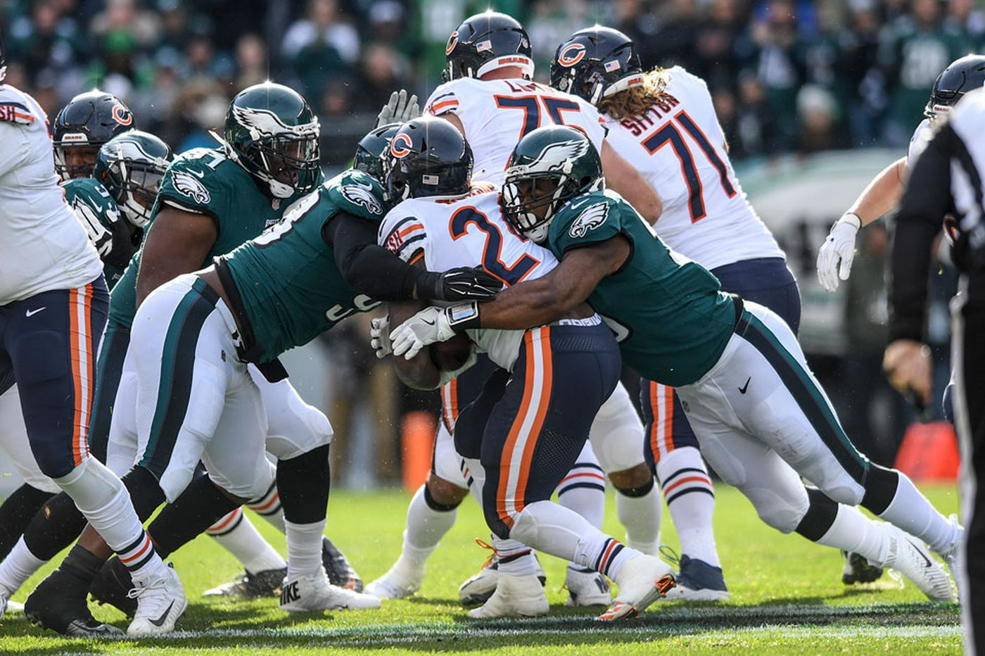 What to watch in the Eagles-Bears playoff game   Early Birds