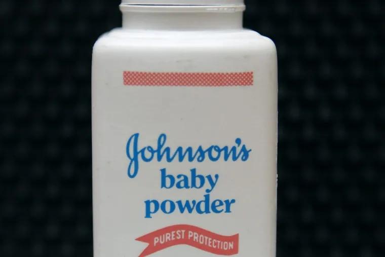File photo of Johnson's Baby Powder