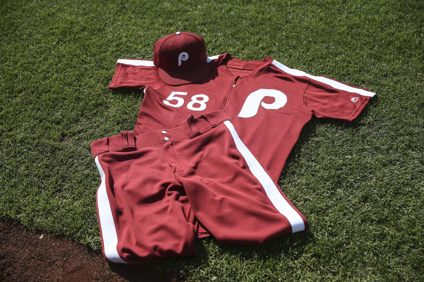detailed pictures e0c1e 2927e This weekend, the Phillies are bringing back the burgundy ...