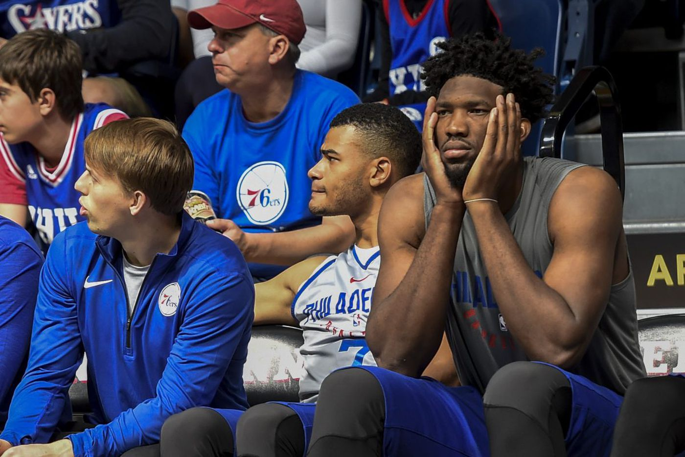 Sixers structure practices to include sidelined Joel Embiid
